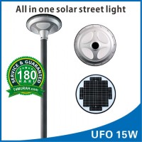 Lampu Jalan LED cell 15 watt murah solar street light UFO 15W PJU Unik