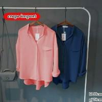 Harga gio shirt outer baju blouse kaos casual formal kekinian sale murah | Pembandingharga.com
