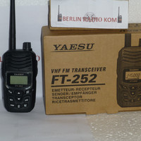 DISKON# Radio Ht Handy Talky Yaesu Ft 252 Waterfooff Murah