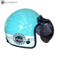 Helm Bogo Grayfosh Import Malaysia Retro Klasik Vintage Bone Speedshop