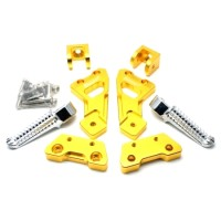 FOOT STEP BLKG FU FULL CNC GOLD