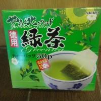 HARADA GREEN TEA 100g teh hijau (import)