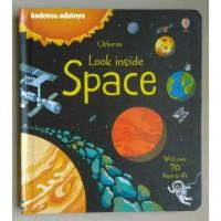 Usborne Look inside Space, Buku Import Anak