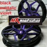 harga velg power star hitam-ungu motor vario 110 dan honda beat Tokopedia.com
