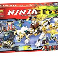 Lego Kw Ninjago Master Wu White Dragon Bela 10397