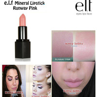 ELF Mineral Lipstick in Runway Pink Shade
