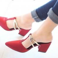 High Heels Wanita Zara Red ZR1 / Sepatu Wanita / Heel / Sepatu Sandal