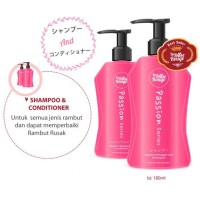 LA ROSE ROUGE - SHAMPOO & CONDITIONER PACKAGE