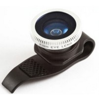 Jual OlloClip Lesung Clip Filter Fisheye Lens Lensa No 7 HP iPhone Android Murah