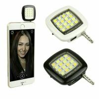 Jual Lampu Selfie Flash Light LED 16 Universal HP Smartphone Android Iphone Murah