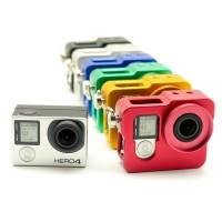 Aluminium Protective Case For GoPro Hero 4 - Black