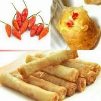 Spicy Cheese Lumpia ( Vegetarian )