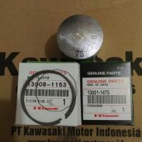 harga piston+ring seher ninja 150 r/rr(ori kawasaki) Tokopedia.com