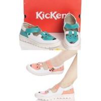 Original Import Sepatu Kickers Sepatu Kets Wanita Murah Casual Cewek