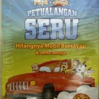 Petualangan Seru Fafa & Juno~Hilangnya mobil bersayap