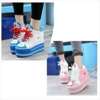 Jual Sepatu Boot Karakter Doraemon & Hello Kitty Murah