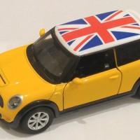 harga Parfum Mobil Diecast Mini Cooper Bendera...Kuning Tokopedia.com