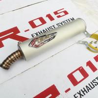 harga Knalpot / Silencer Creampie Titan Aluminium For Ninja 150 R, RR, SS Tokopedia.com