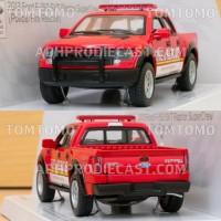 Diecast Ford F-150 Raptor (Pemadam Kebakaran) Miniatur Mobil Mobilan