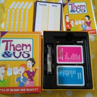 Them & Us boardgame