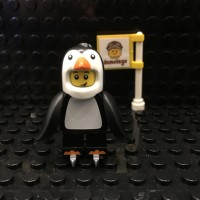 Lego Original Minifigure Penguin Pinguin Suit Boy