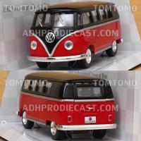 harga Diecast VW Kombi Bus 62 BT (Merah) Miniatur Mobil Mobilan Mainan Anak Tokopedia.com