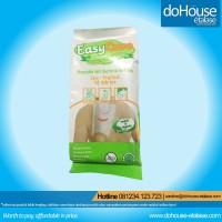 Jual EasyCare   Washlap Sekali Pakai - Anti Bacterial Wet Bag   12 Sheets Murah