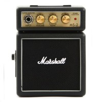 harga Ampli Gitar Mini - Marshall MS2 Mini Guitar Amplifier Distorsi Tokopedia.com