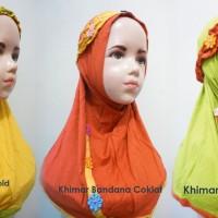 Khimar/Jilbab Bandana Anak Usia 2-5 tahun