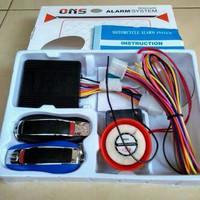 EXCLUSIF Alarm Motor ONS + Remot Stater On Off Motor Aksesoris