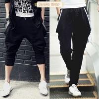 harga 3 POCKET BAGGY TRAINING PANTS celana jogger olahraga pria wanita korea Tokopedia.com