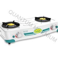 Kompor Gas Quantum 2 Tungku QGC-201 DEP