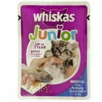 Whiskas Junior Sacet 85gr