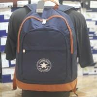 harga tas ransel converse backpack navy brown original asli murah Tokopedia.com