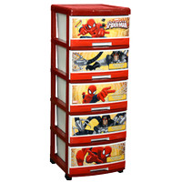 Napolly Drawer Plastik 5 Susun Karakter Spiderman SFC2 5000 SPGC