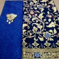 Kain Batik Prada Pekalongan Biru