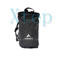 Tas Tabung/ Chalk Bag Eiger 6304 Tri Point Modif - Grey