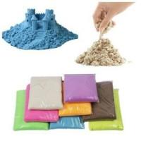 Pasir Kinetic Play Sand Mainan 500 Gram / Balita Toddler/ Kreatif Anak