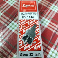 Holesaw TCT Original KUGEL 12mm Tungsten Tip