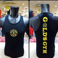 singlet gold gym 2 warna