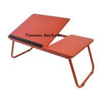 Meja Lipat / Meja Belajar Anak / Meja Belajar Lipat Informa - Merah