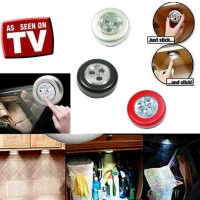 Stick Touch Lamp Led Lampu Emergency bulat wc lemari kamar pintu ruang