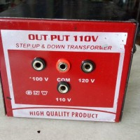 Trafo Step up down 500 watt 110v - 220v