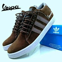 harga Sepatu Adidas Vespa Casual Sneakers Pria 6 Warna Tokopedia.com