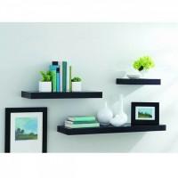 Jual Rak Dinding Floating Shelves 1 Set 3 Buah Murah
