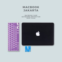 Bundling Promo - Case Macbook Matte + Keyboard Protector + Dust Plug
