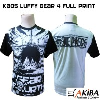 Kaos Anime Monkey D Luffy ( Gear 4 ) - One Piece