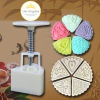 Jual cetakan kue segi3, cetakan cookies, cetakan moon cake, moon cake mold Murah