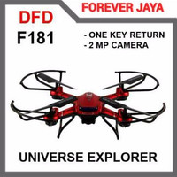 Dfd F181 With Camera Headless Rc Remote Control Quadcopter Drone Toys
