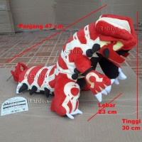 boneka pokemon groudon primal terbaru murah pokemon go plush Ruby Sapp